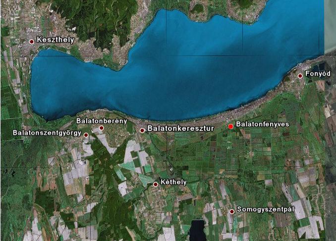 balatonfenyves térkép Balatonfenyves Térkép   Nyaraló, szállás balatonfenyves térkép